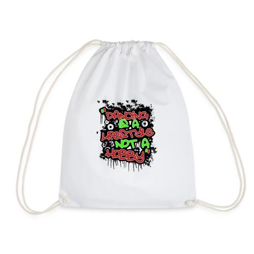 danceing lifestyle - Drawstring Bag