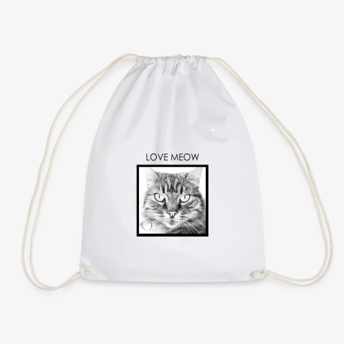 LOVEMEOW - Drawstring Bag