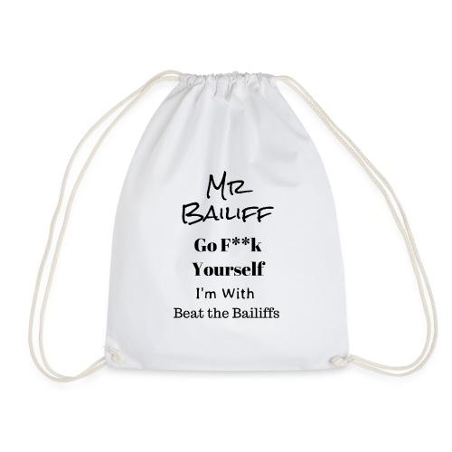 Beat the Bailiffs - Drawstring Bag