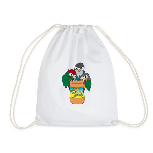 PB and Birb - Drawstring Bag