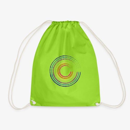 Circle rainbow - Sacca sportiva