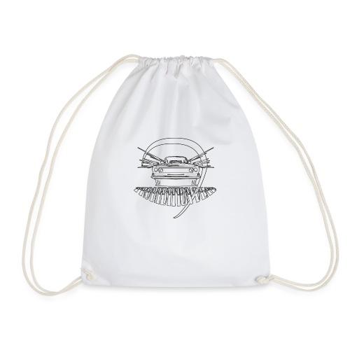 Tee MuscleCar White - Sac de sport léger