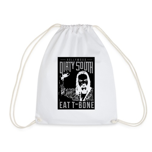 Dirty South - Eat T-Bone - Drawstring Bag
