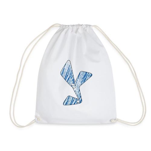lettera Y blu - Sacca sportiva