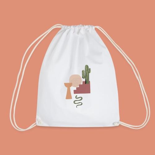 serpent et cactus - Sac de sport léger