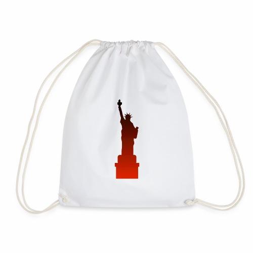 Statue of Liberty - Drawstring Bag
