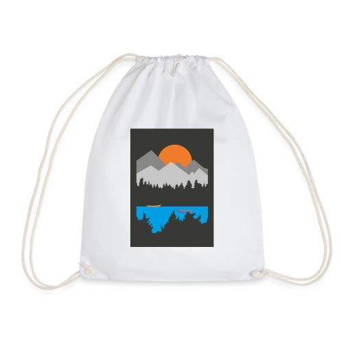 Row boats - Drawstring Bag