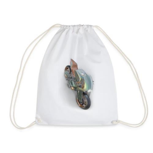 Motorbike - Drawstring Bag