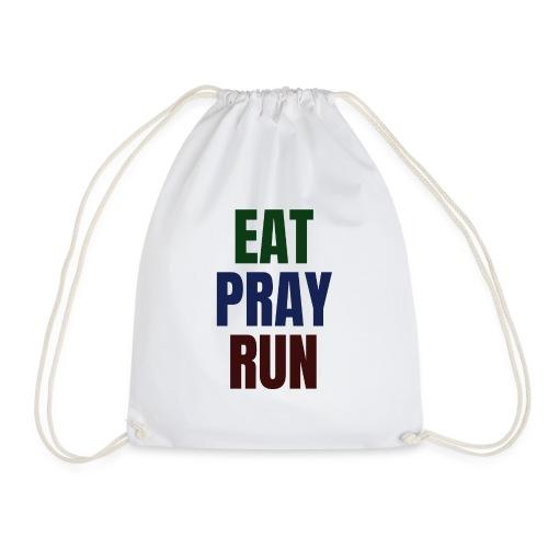 Eat - Pray - Run - Turnbeutel