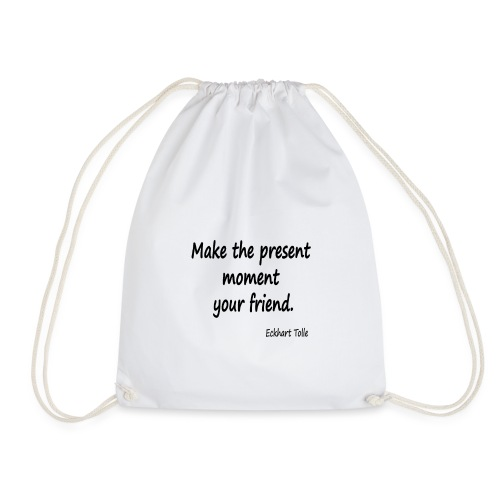 Now for Friends - Drawstring Bag