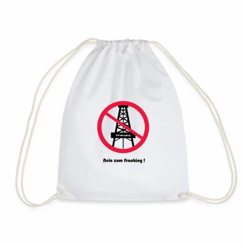 No Fraking - Turnbeutel