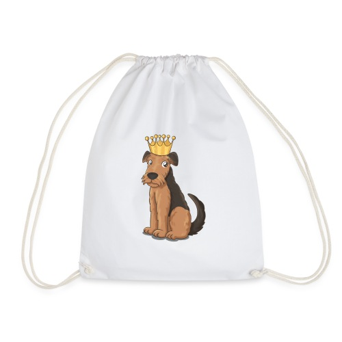 The KING of Terriers - Drawstring Bag