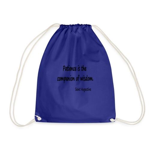 Peace and Wisdom - Drawstring Bag