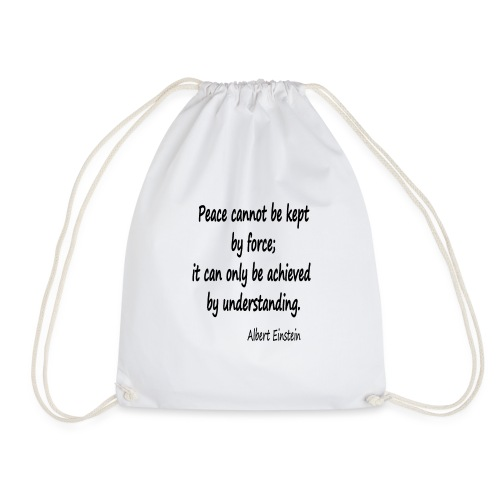 Achieve Peace - Drawstring Bag