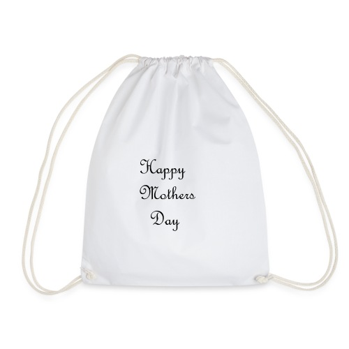 happy mother day - Drawstring Bag