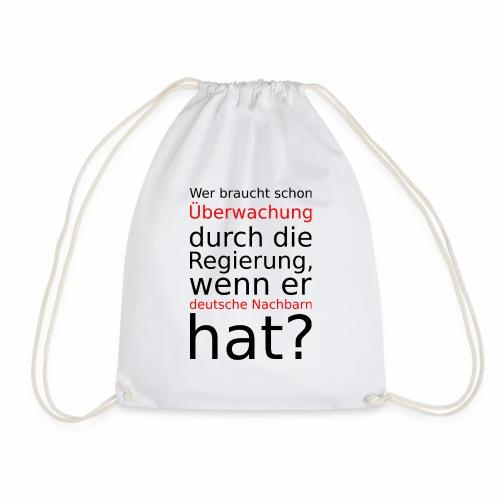 Deutsche Nachbarn - Drawstring Bag