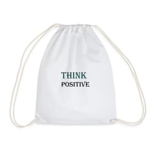 Think positive - Drawstring Bag