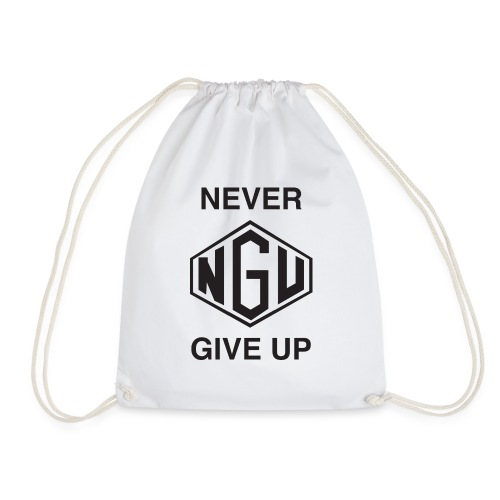 NEVER GIVE UP - Turnbeutel