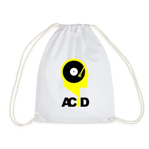 Acid In My Head White - Worek gimnastyczny