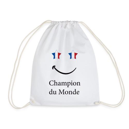 champion du monde bleu blanc rouge - Sac de sport léger