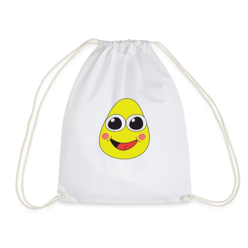 Friendly pear - Drawstring Bag