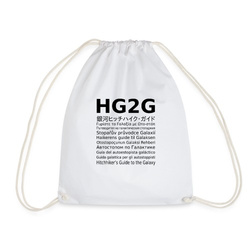 HG2G - Turnbeutel
