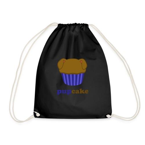 pupcake blauw - Gymtas