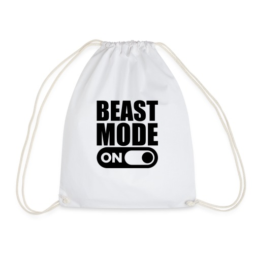 BEAST MODE ON - Drawstring Bag