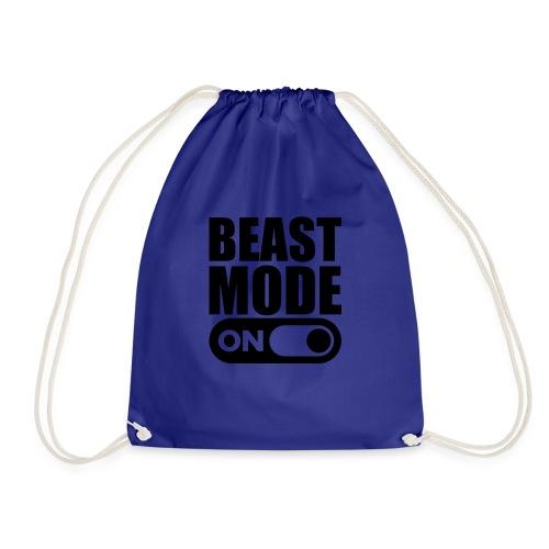 BEAST MODE ON - Drawstring Bag