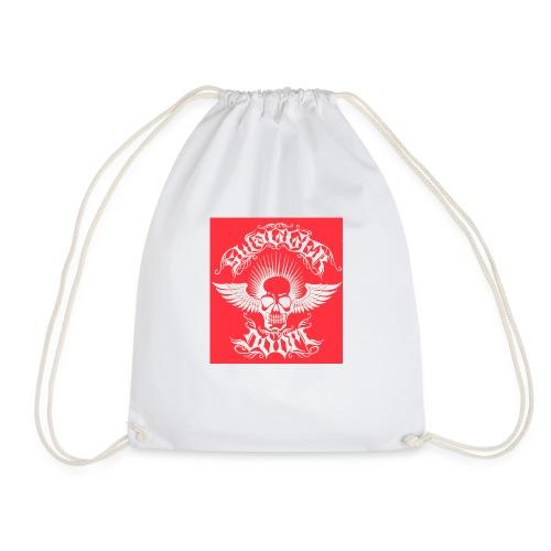 Swagger & Doom Red/ White 1.0 - Drawstring Bag