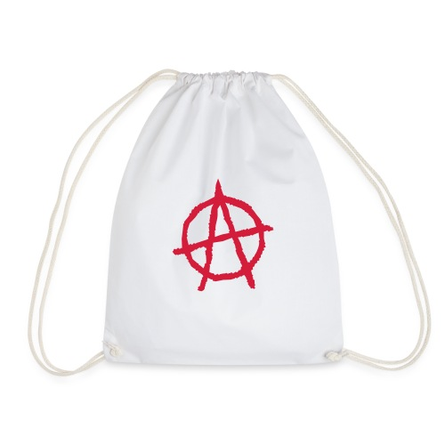 Anarchy Symbol - Drawstring Bag