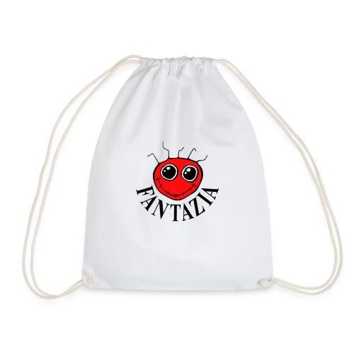 2 Colour Fantazia Smiley Face - Drawstring Bag