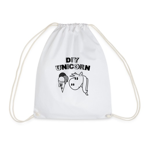 DIY Unicorn Einhorn - Turnbeutel