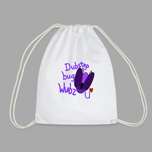 Dubstep bug shirt - Drawstring Bag