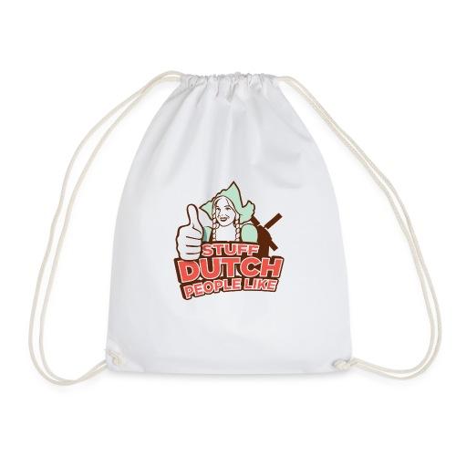 Logo large transp3 png - Drawstring Bag
