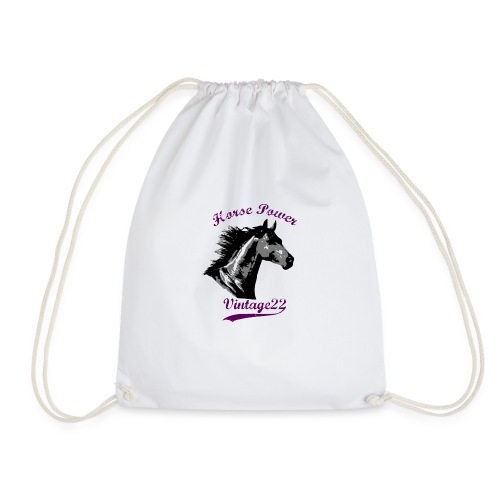 Horse Power Design - Drawstring Bag