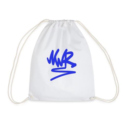 NWR blue - Drawstring Bag