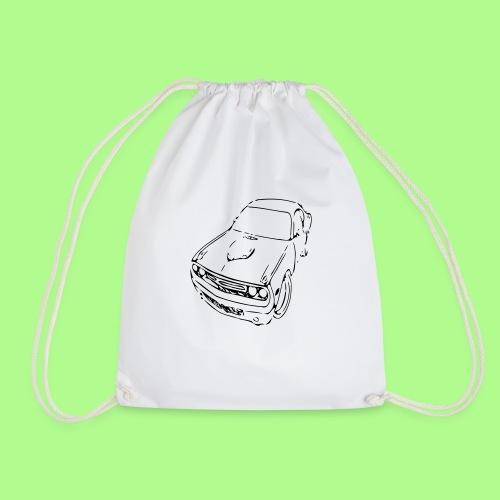 muscle car T-shirt - Drawstring Bag