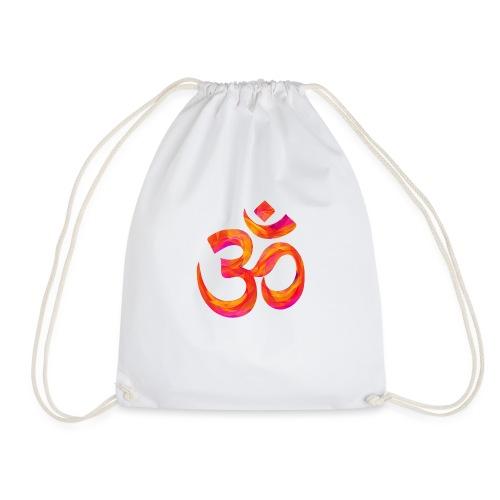 Symbole orange Chakra Om - Sac de sport léger