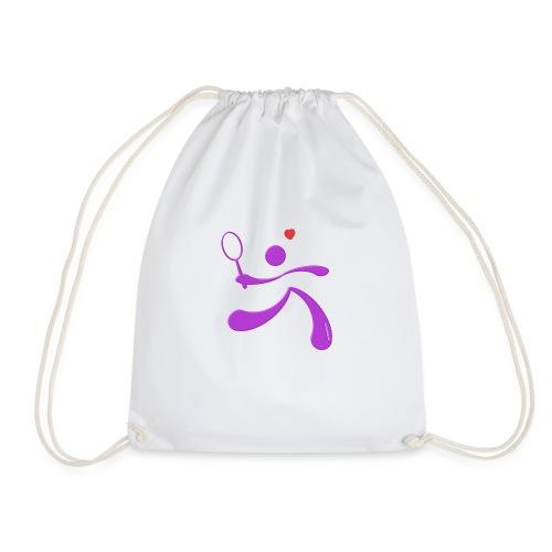 tennis-pet-version - Drawstring Bag