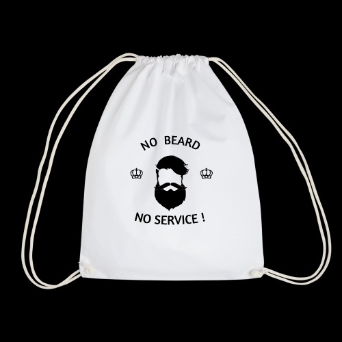 NO BEARD NO SERVICE ! - Turnbeutel