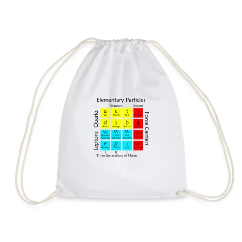 Elementary Particles - Drawstring Bag