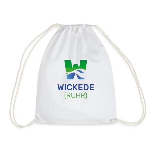 Wickede Logo farbig - Turnbeutel