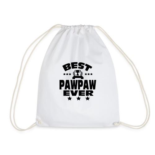 BEST PAWPAW EVER - Drawstring Bag