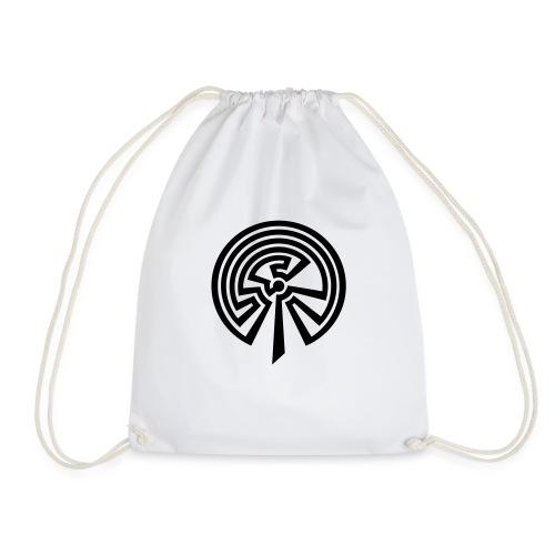 Indianisches Labyrinth - Turnbeutel