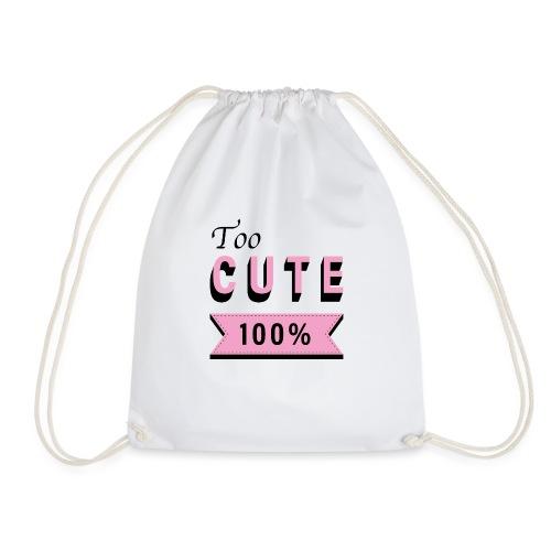 too cute 100% pink - Sac de sport léger