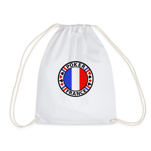 poker france - Drawstring Bag