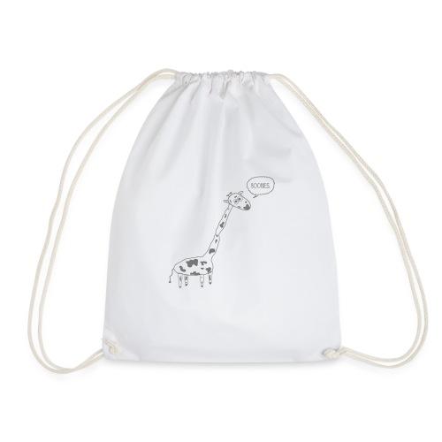 Naughty Giraffe - Drawstring Bag