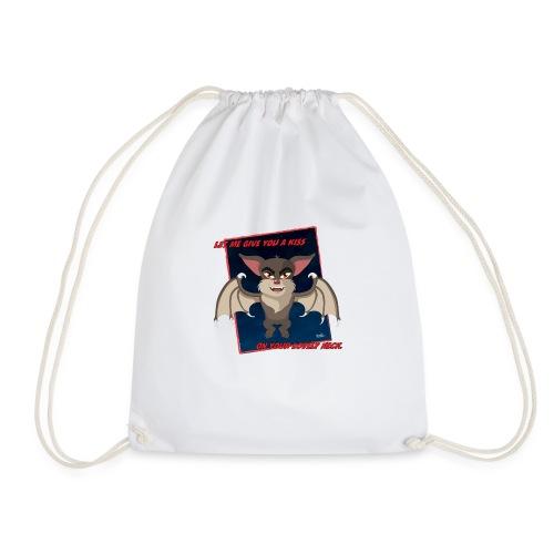 Ozzy the Bat - Drawstring Bag