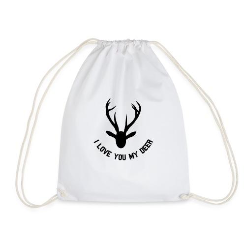 i love you my deer - Gymbag